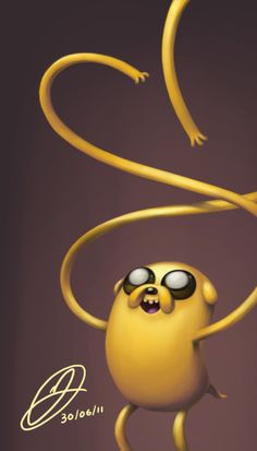 Jake. Awesome Robo!: 30 Days Of Adventure Time (More Like 36)