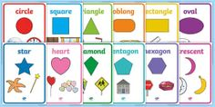 2D Shapes with Everyday Objects Display Posters - EYLF, numeracy, mathematics, 2D shapes, shapes, everyday objects,Australia