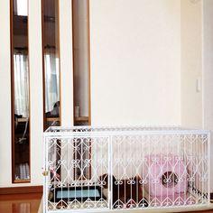 Lounge/トイプードル/アイアン/ペットのゲージ/犬のいる暮らしのインテリア実例 - 2016-09-14 10:44:40   RoomClip (ルームクリップ)