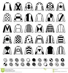 Kentucky Derby 141 2015 11x14 Jockey Silks Signed Print