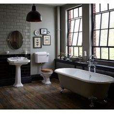 Granley Low Level Suite. Add a touch of 1920s elegance to your bathroom. A truly versatile collection, Granley works beautifully in any home and brings with it an air of real luxury. You can complete the look with one of Heritage's freestanding cast iron baths, which can be painted to match your décor.