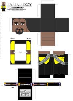 Paper Pezzy- Cmdr Worf 'TNG' by CyberDrone.deviantart.com on @DeviantArt
