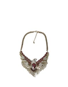 DIAMANTE EAGLE NECKLACE