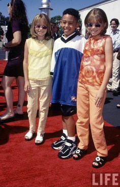 Tahj Mowry and Mary Kate & Ashley Olsen