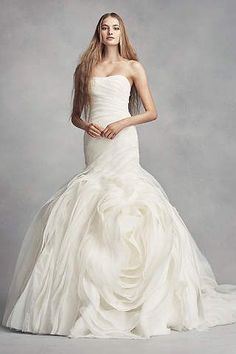 0b303ccc44b Vera Wang wedding dresses designed a stunning collection for David's Bridal  at an affordable price. Perfect Wedding DressOne Shoulder ...