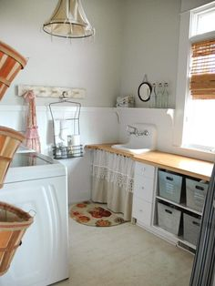 Let's Get Personal - 10 Chic Laundry Room Decorating Ideas on HGTV