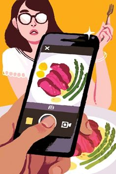 How Passive-Aggressive Is Instagramming Your Food? - Adweek - Kali Ciesemier