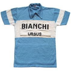 This Bianchi wool jersey was to be used by the Italian actor Sergio Castellitto as Fauso Coppi in RAI's 'Il Grande Fausto' film.