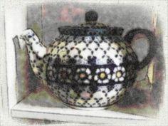 Teapot in Cornflower pattern