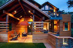 Eco-Friendly Hillside House    California www.mybiscoto.com