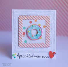 Card by design team member Rebecca Keppel featuring Summer Vibes and My Favorite Things Dies