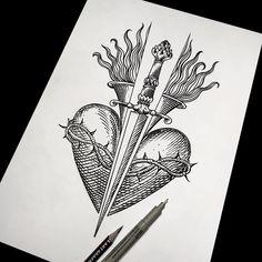 Heart & sword