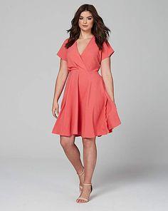 Closet Wrap Front Dress