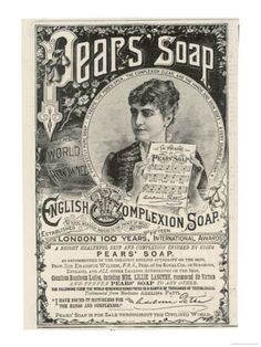 Lillie Langtry and the Prince of Wales Used to Endorse the Virtues of Pears Soap