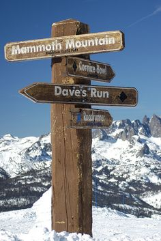 The Top Of Mammoth