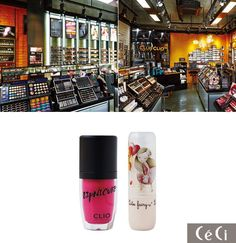 Ceci Magazine Korea November 2013: features Club Clio's newest flagship store opening in Korea!