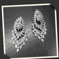#diamondearrings @Under the Cherry moon