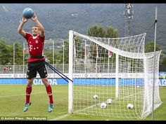Goalkeeper training - Manuel Neuer training ( Bayern Munich and the German national team) - YouTube