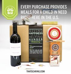 The perfect Mother's Day gift! Wine, cheese, chocolate AND it gives back to a worthy cause.  #thatscaring