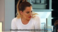 """When your best friend asks you to check something weird """"down there.""""   24 Khloe Kardashian Reactions To Get You Through Life"""