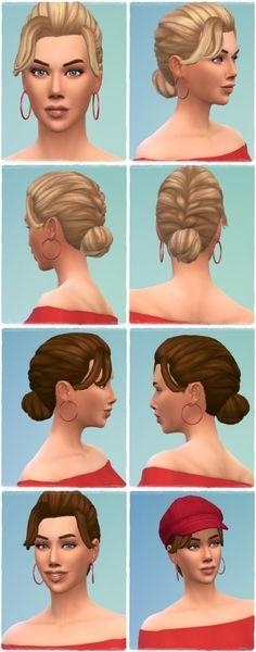 Anna's FrenchBraid Hair at Birksches Sims Blog • Sims 4 Updates