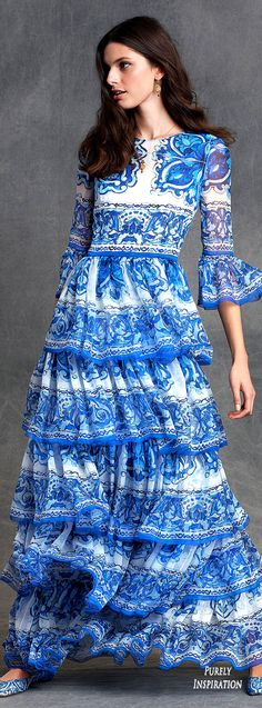 Dolce&Gabbana Winter 2016 Collection Women's Fashion RTW | Purely Inspiration
