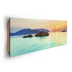 Poster: Ocean Sunrise - Con Dao online te koop. Bestel je poster, je 3d filmposter of soortgelijk product Deco Panel 30x90