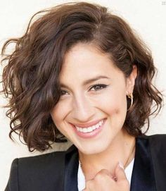 20 Short Brown Curly Hair | http://www.short-haircut.com/20-short-brown-curly-hair.html More