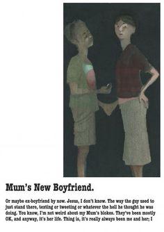 Mum's New Boyfriend    Short story