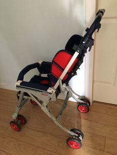 aprica baby stroller circa 1985  Useful to many people today http://www.geojono.com/