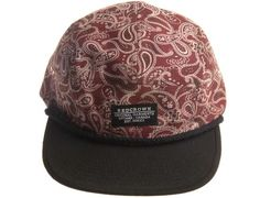"""REDCROWN """"Red Paisley"""" Strapback Cap"""