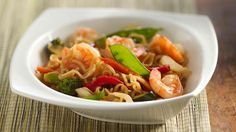 Ramen Shrimp and Veggies - Grandparents.com