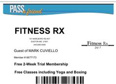 Who wants a pass a friend 2 week pass?  Ask and I will send. It allows you or your friend to have access to all of our classes for two weeks and our gym during normal business hours. Could even get you a free month toward your membership if they sign up.
