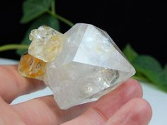 Herkimer Diamond Crystal Cluster w/ Pristine Tip Condition, Authentic NY Mineral | eBay