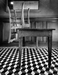 Vincent's chair, Auberge Ra.   From the book: Travels with Van Gogh & the Impressionists. Neil Folberg