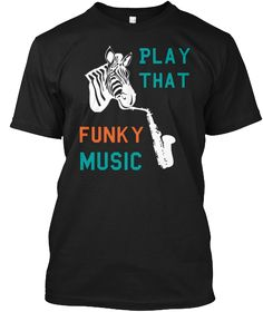 Sax Saxophone Ladies Womens Lady Fit T Shirt