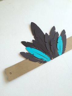 Birthday Headdress// Pow Wow Party by GoldenStateKids on Etsy
