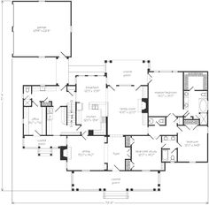Looking for the best house plans? Check out the Sand Mountain House plan from Southern Living. House Plans And More, Best House Plans, Small House Plans, House Floor Plans, Farmhouse Layout, Farmhouse Plans, Metal Building Homes, Building A New Home, Dream Home Design
