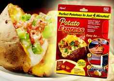 Egy igazán jó ajándék azoknak, akik szeretnek gyorsan és egészségesen főzni! Potato