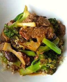 Paleo Beef & Broccoli Lo Mein | Zen Belly