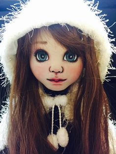 60cm tall fabric doll