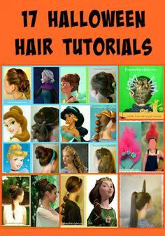 17 Halloween Hairstyles, including tutorials - Trends Of The World Troll Costume, Scary Costumes, Hair Images, Hair Pictures, Disney Princess Hairstyles, Crown Hairstyles, Hairstyle Ideas, Halloween Hairstyles, Beautiful Haircuts
