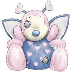 Tatty Teddy Bear - My Blue Nose Friends - Passion The Bug Tatty Teddy, Teddy Bear, Cute Images, Cute Pictures, Blue Nose Friends, Cute Clipart, Country Paintings, Baby Art, Friend Photos