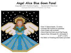 Angel Alice Blue Gown Panel, Sova Enterprises