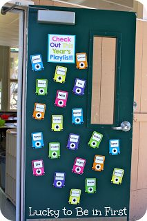 Back to School Bulletin Board! Check Out This Year's Playlist!