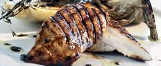 Kylling opskrift med balsamico-marinade - se her Pork, Chicken, Meat, Recipes, Pork Roulade, Pigs, Rezepte, Recipe