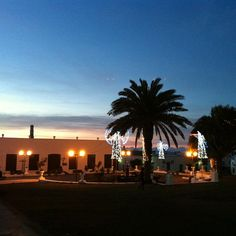 Teguise: central park http://www.ebooking.com/en/lanzarote/hotels/