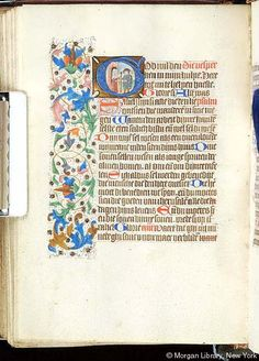 Book of Hours, MS S.2 fol. 117v - Images from Medieval and Renaissance Manuscripts - The Morgan Library & Museum