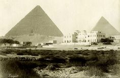 The origin of the Mena House was that of a royal lodge for the Khedive Ismail…
