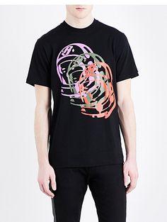 BILLIONAIRE BOYS CLUB Helmet cotton T-shirt